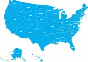 PE Renewal Info for all 50 states across the U.S.